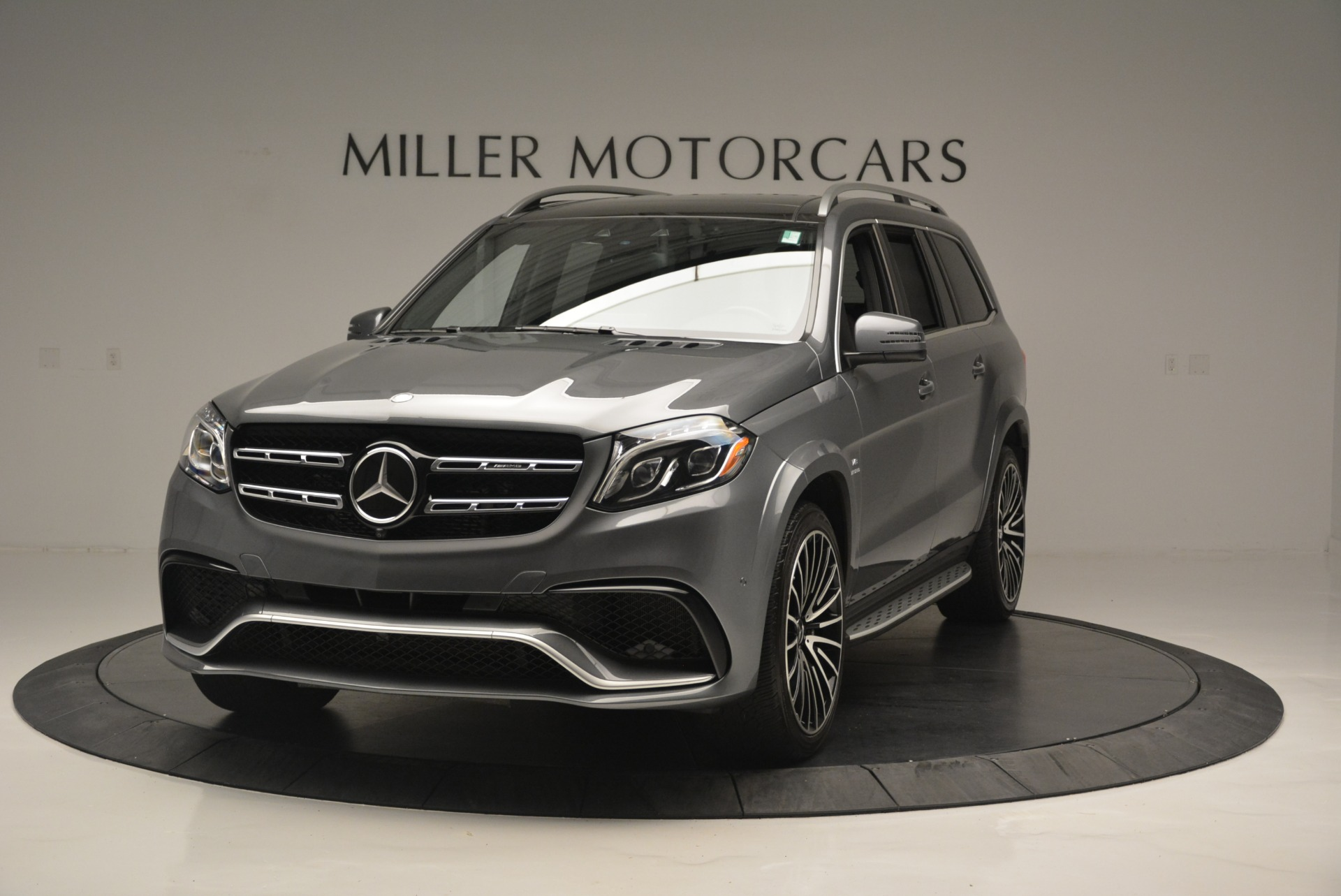 Used 2017 Mercedes-Benz GLS AMG GLS 63 for sale Sold at McLaren Greenwich in Greenwich CT 06830 1