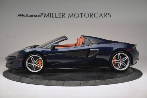 New 2019 McLaren 570S Spider Convertible for sale Sold at McLaren Greenwich in Greenwich CT 06830 3