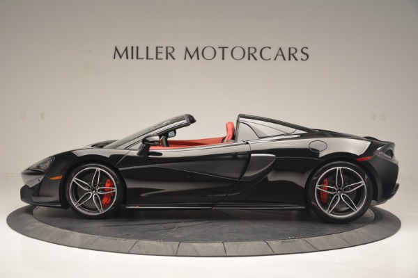 New 2019 McLaren 570S Convertible for sale Sold at McLaren Greenwich in Greenwich CT 06830 3
