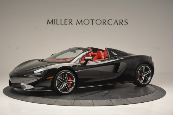 New 2019 McLaren 570S Convertible for sale Sold at McLaren Greenwich in Greenwich CT 06830 1