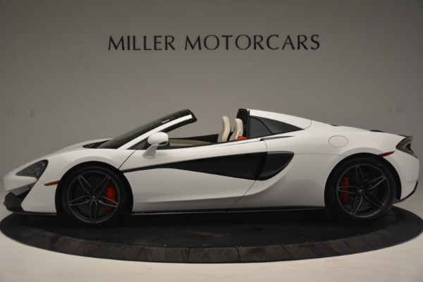 New 2019 McLaren 570S Spider Convertible for sale Sold at McLaren Greenwich in Greenwich CT 06830 3
