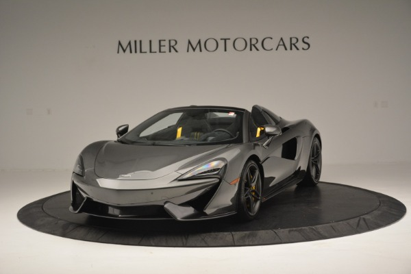 Used 2019 McLaren 570S Spider Convertible for sale $189,990 at McLaren Greenwich in Greenwich CT 06830 2