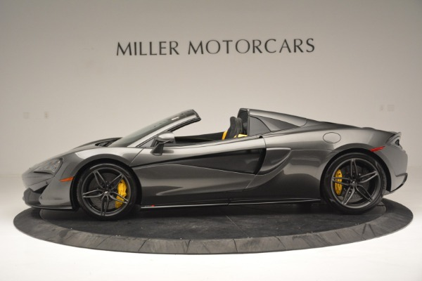 Used 2019 McLaren 570S Spider Convertible for sale $189,990 at McLaren Greenwich in Greenwich CT 06830 3
