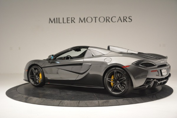 Used 2019 McLaren 570S Spider Convertible for sale $189,990 at McLaren Greenwich in Greenwich CT 06830 4