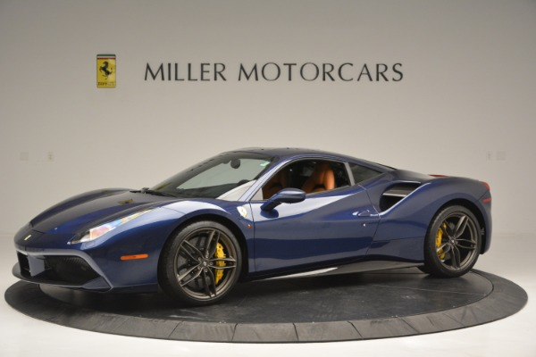 Used 2018 Ferrari 488 GTB for sale Sold at McLaren Greenwich in Greenwich CT 06830 2