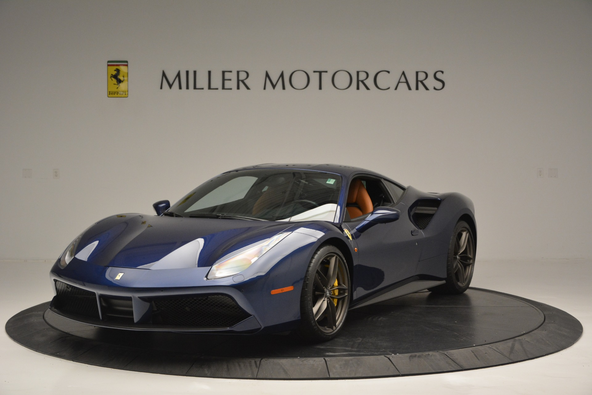 Used 2018 Ferrari 488 GTB for sale Sold at McLaren Greenwich in Greenwich CT 06830 1