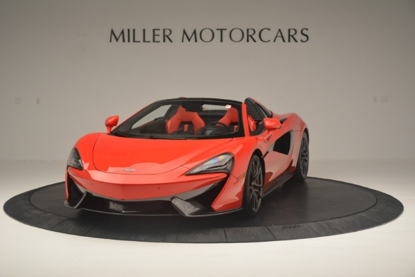 New 2019 McLaren 570S Spider Convertible for sale Sold at McLaren Greenwich in Greenwich CT 06830 2