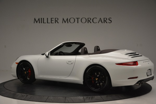Used 2015 Porsche 911 Carrera S for sale Sold at McLaren Greenwich in Greenwich CT 06830 4
