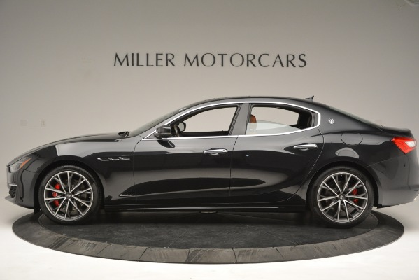 New 2019 Maserati Ghibli S Q4 GranLusso for sale Sold at McLaren Greenwich in Greenwich CT 06830 3