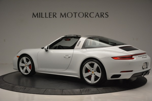 Used 2017 Porsche 911 Targa 4S for sale Sold at McLaren Greenwich in Greenwich CT 06830 4