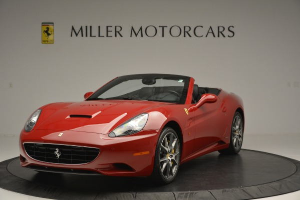 Used 2011 Ferrari California for sale Sold at McLaren Greenwich in Greenwich CT 06830 1