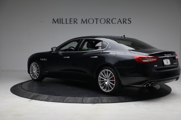 Used 2019 Maserati Quattroporte S Q4 GranLusso for sale $69,900 at McLaren Greenwich in Greenwich CT 06830 4