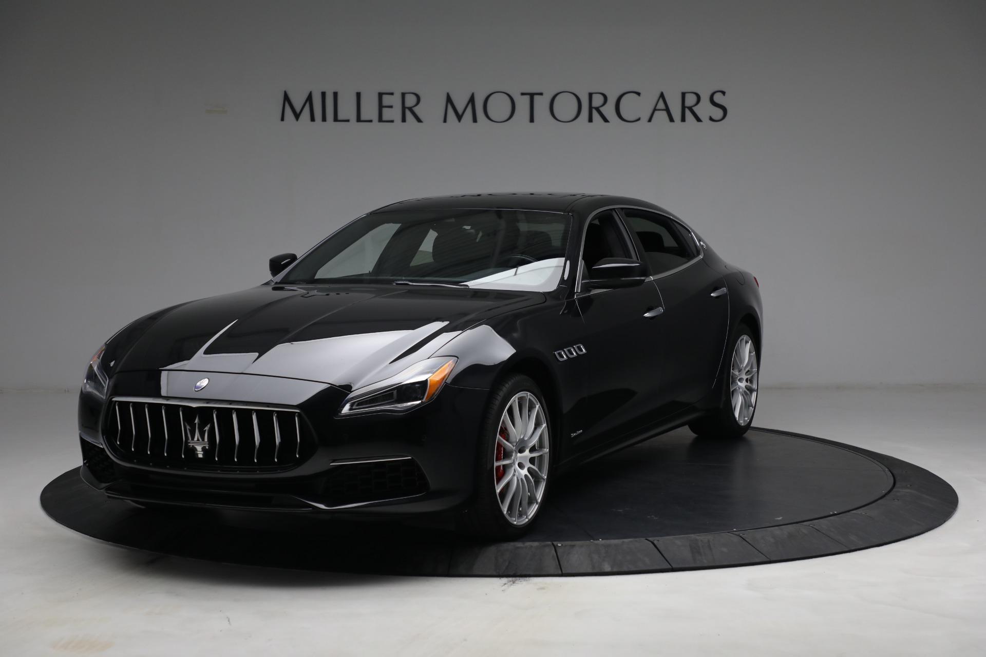 Used 2019 Maserati Quattroporte S Q4 GranLusso for sale $69,900 at McLaren Greenwich in Greenwich CT 06830 1