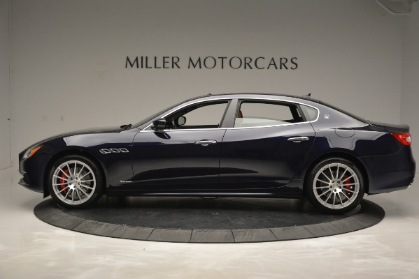 New 2019 Maserati Quattroporte S Q4 GranLusso for sale Sold at McLaren Greenwich in Greenwich CT 06830 3