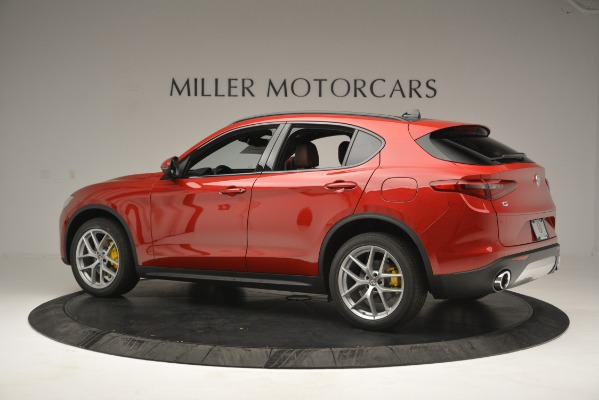 New 2018 Alfa Romeo Stelvio Ti Sport Q4 for sale Sold at McLaren Greenwich in Greenwich CT 06830 4