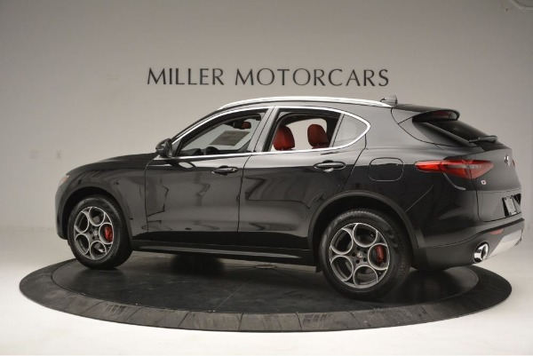 New 2019 Alfa Romeo Stelvio Q4 for sale Sold at McLaren Greenwich in Greenwich CT 06830 4