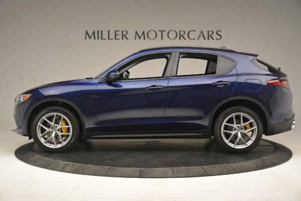 New 2019 Alfa Romeo Stelvio SPORT AWD for sale Sold at McLaren Greenwich in Greenwich CT 06830 3