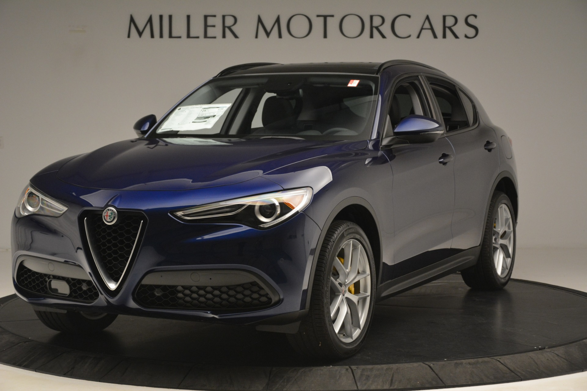 New 2019 Alfa Romeo Stelvio SPORT AWD for sale Sold at McLaren Greenwich in Greenwich CT 06830 1