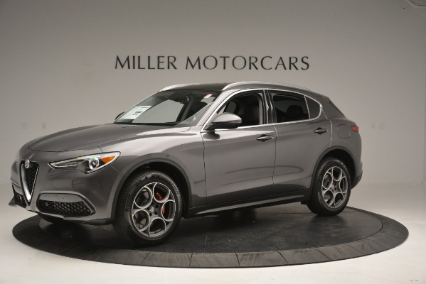 New 2019 Alfa Romeo Stelvio Q4 for sale Sold at McLaren Greenwich in Greenwich CT 06830 2
