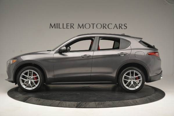 New 2019 Alfa Romeo Stelvio Sport Q4 for sale Sold at McLaren Greenwich in Greenwich CT 06830 3