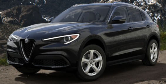 New 2019 Alfa Romeo Stelvio Q4 for sale Sold at McLaren Greenwich in Greenwich CT 06830 1