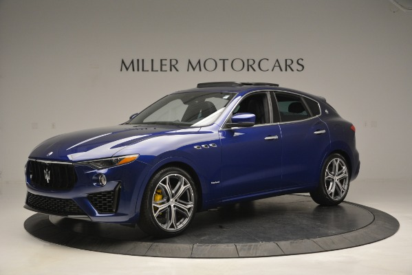 New 2019 Maserati Levante Q4 GranSport for sale $90,370 at McLaren Greenwich in Greenwich CT 06830 2