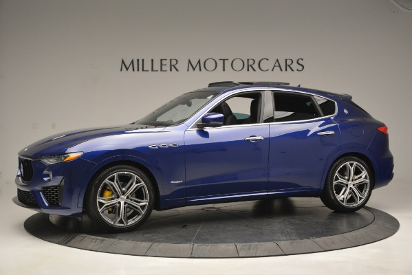New 2019 Maserati Levante Q4 GranSport for sale $90,370 at McLaren Greenwich in Greenwich CT 06830 3