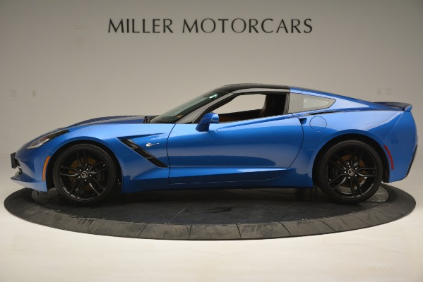 Used 2014 Chevrolet Corvette Stingray Z51 for sale Sold at McLaren Greenwich in Greenwich CT 06830 3