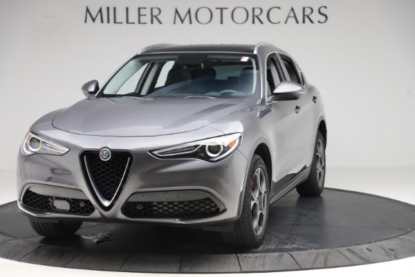 Used 2019 Alfa Romeo Stelvio Q4 for sale Sold at McLaren Greenwich in Greenwich CT 06830 1