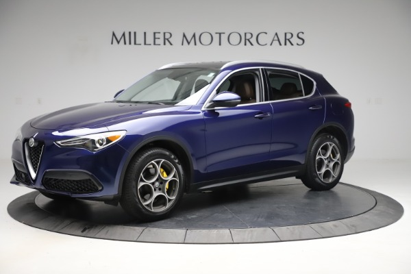 Used 2019 Alfa Romeo Stelvio Q4 for sale Sold at McLaren Greenwich in Greenwich CT 06830 2