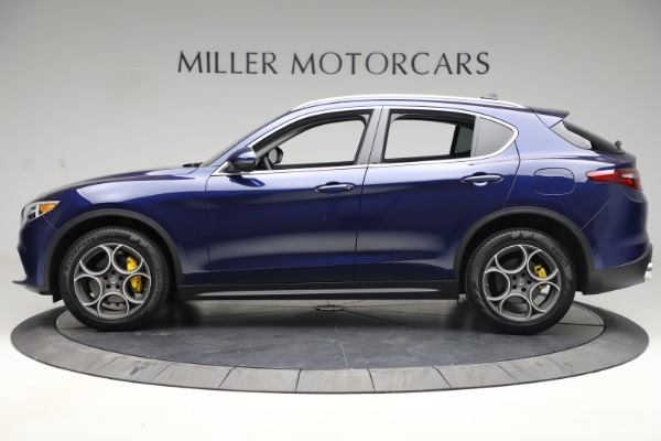 Used 2019 Alfa Romeo Stelvio Q4 for sale Sold at McLaren Greenwich in Greenwich CT 06830 3