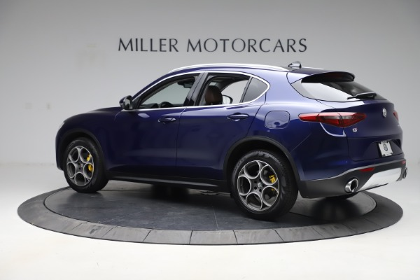 Used 2019 Alfa Romeo Stelvio Q4 for sale Sold at McLaren Greenwich in Greenwich CT 06830 4