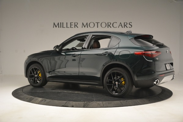 New 2019 Alfa Romeo Stelvio Sport Q4 for sale Sold at McLaren Greenwich in Greenwich CT 06830 4