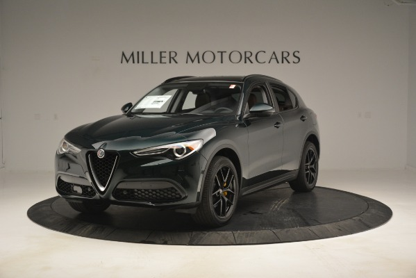 New 2019 Alfa Romeo Stelvio Sport Q4 for sale Sold at McLaren Greenwich in Greenwich CT 06830 1
