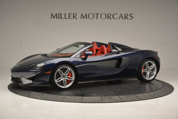 New 2019 McLaren 570S Spider Convertible for sale Sold at McLaren Greenwich in Greenwich CT 06830 1