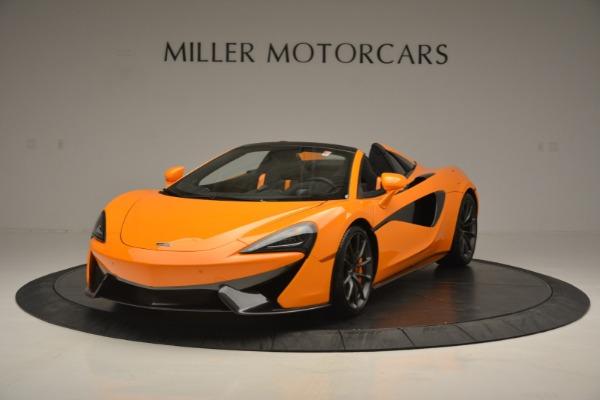 Used 2019 McLaren 570S Spider for sale $186,900 at McLaren Greenwich in Greenwich CT 06830 2