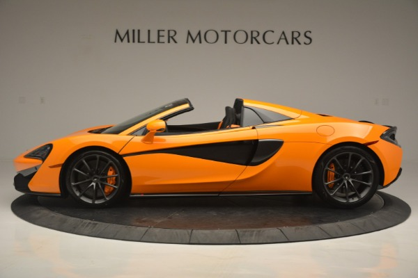 Used 2019 McLaren 570S SPIDER Convertible for sale $240,720 at McLaren Greenwich in Greenwich CT 06830 3