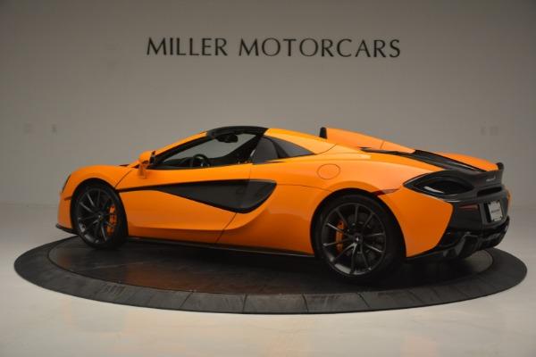 Used 2019 McLaren 570S Spider for sale $186,900 at McLaren Greenwich in Greenwich CT 06830 4
