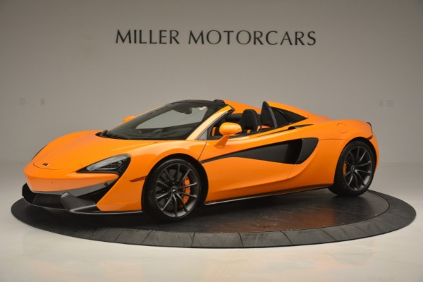 Used 2019 McLaren 570S SPIDER Convertible for sale $240,720 at McLaren Greenwich in Greenwich CT 06830 1