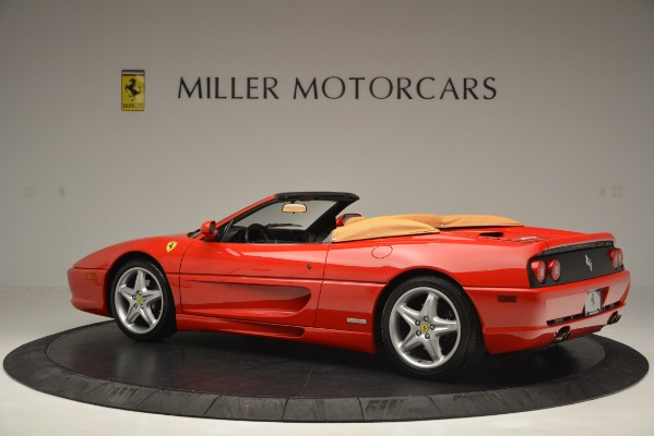 Used 1997 Ferrari 355 Spider 6-Speed Manual for sale Sold at McLaren Greenwich in Greenwich CT 06830 4