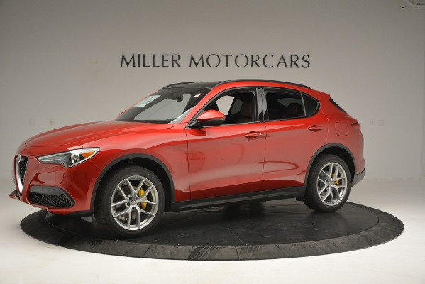 New 2019 Alfa Romeo Stelvio Ti Sport Q4 for sale Sold at McLaren Greenwich in Greenwich CT 06830 2