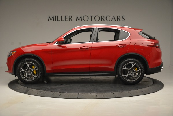 New 2019 Alfa Romeo Stelvio Q4 for sale Sold at McLaren Greenwich in Greenwich CT 06830 3