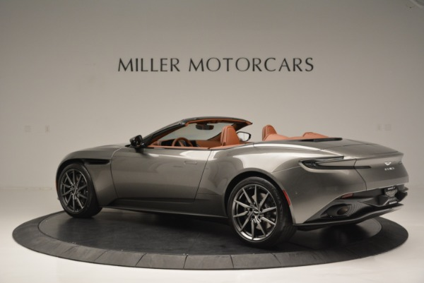 Used 2019 Aston Martin DB11 V8 Convertible for sale Sold at McLaren Greenwich in Greenwich CT 06830 4