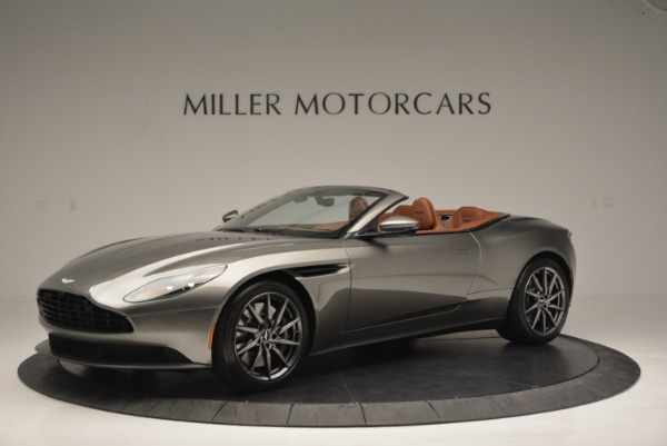 Used 2019 Aston Martin DB11 V8 Convertible for sale Sold at McLaren Greenwich in Greenwich CT 06830 1