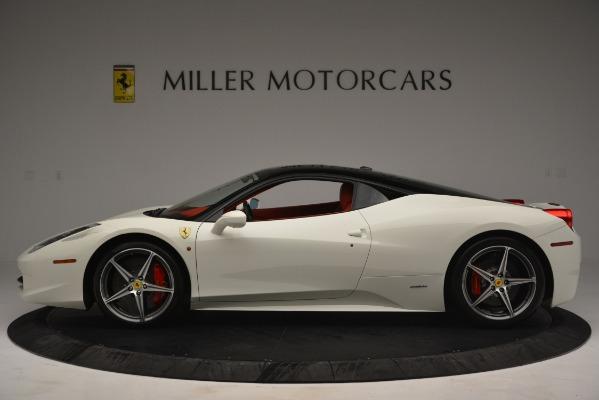 Used 2012 Ferrari 458 Italia for sale Sold at McLaren Greenwich in Greenwich CT 06830 3