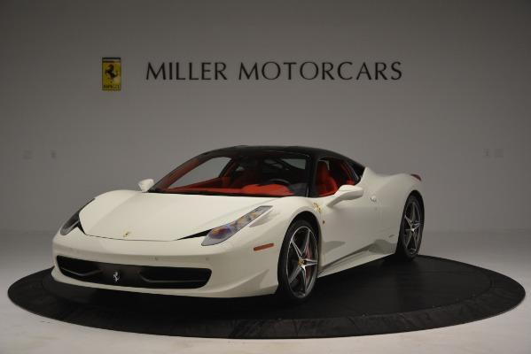 Used 2012 Ferrari 458 Italia for sale Sold at McLaren Greenwich in Greenwich CT 06830 1