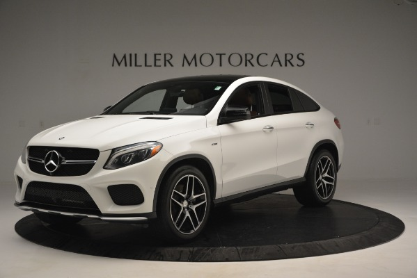 Used 2016 Mercedes-Benz GLE 450 AMG Coupe 4MATIC for sale Sold at McLaren Greenwich in Greenwich CT 06830 2