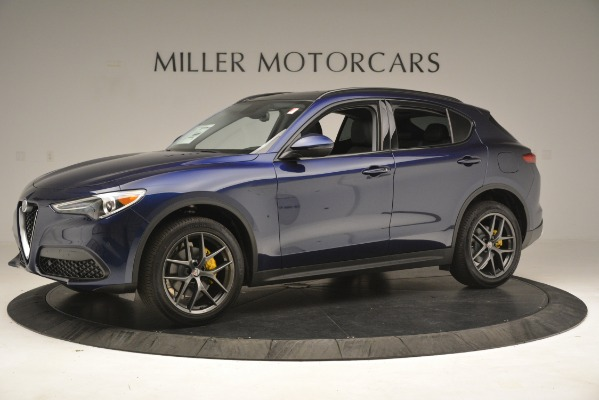 New 2019 Alfa Romeo Stelvio Sport Q4 for sale $49,940 at McLaren Greenwich in Greenwich CT 06830 2