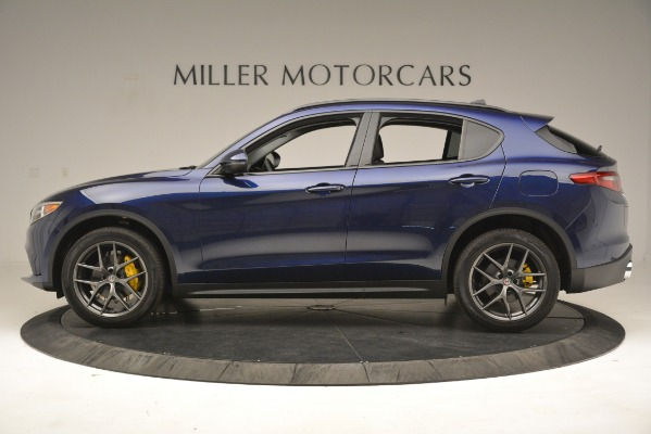 New 2019 Alfa Romeo Stelvio Sport Q4 for sale $49,940 at McLaren Greenwich in Greenwich CT 06830 3