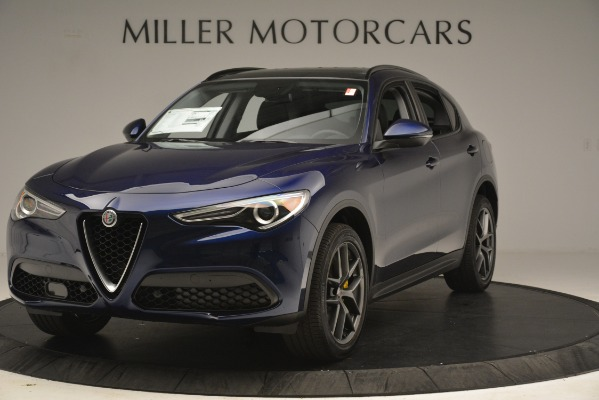 New 2019 Alfa Romeo Stelvio Sport Q4 for sale $49,940 at McLaren Greenwich in Greenwich CT 06830 1
